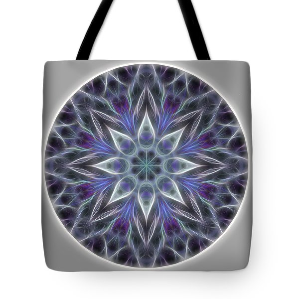 Health And Happiness Mandala Tote Bag