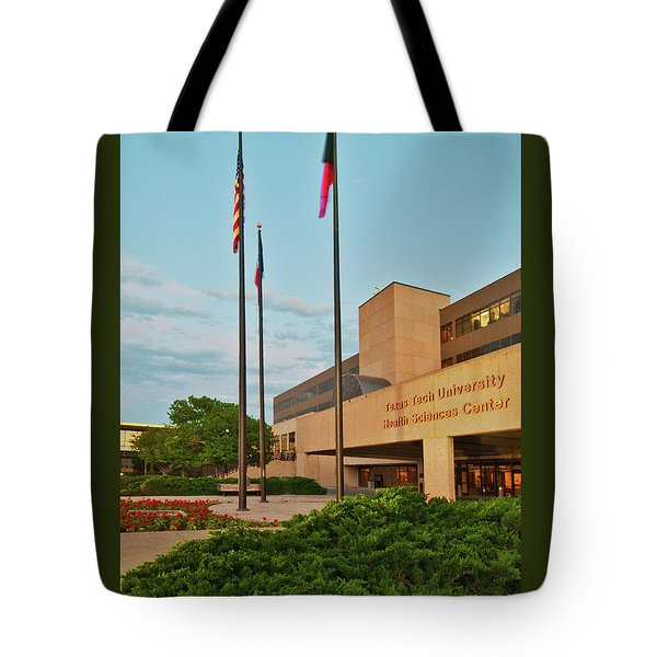 Tote Bag featuring the photograph Health Sciences Medical Center by Mae Wertz