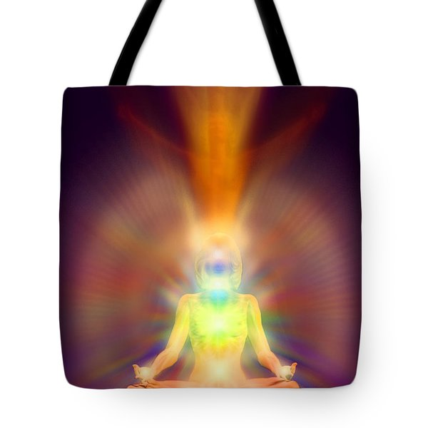 Healthy Aura Tote Bag
