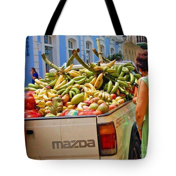 Healthy Fast Food Tote Bag by Debbi Granruth