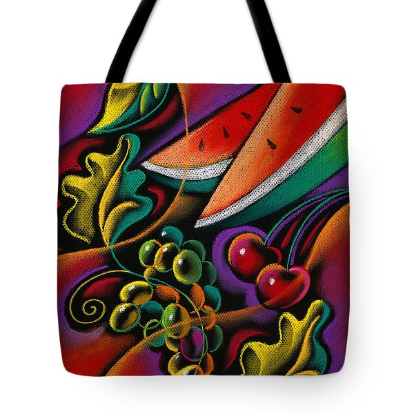 Healthy Fruit Tote Bag