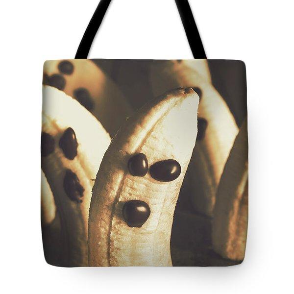 Healthy Rustic Trick-or-treat Halloween Snacks Tote Bag