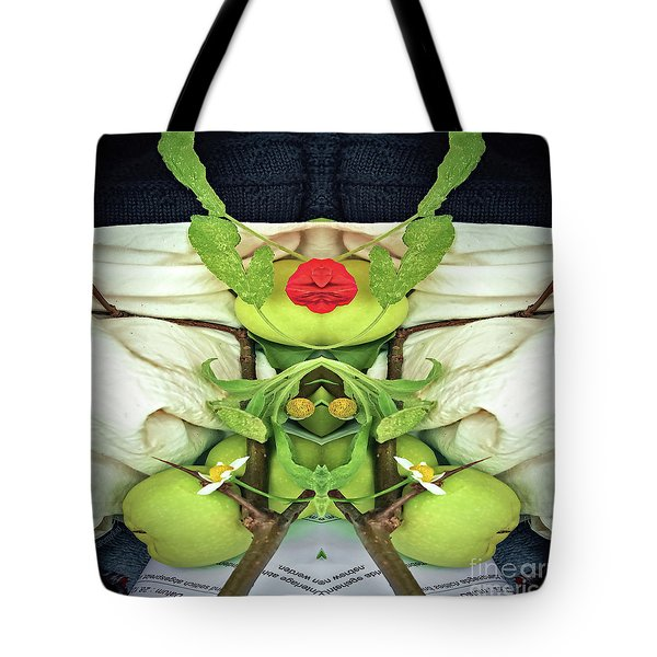 Healthy Living Instructions Tote Bag