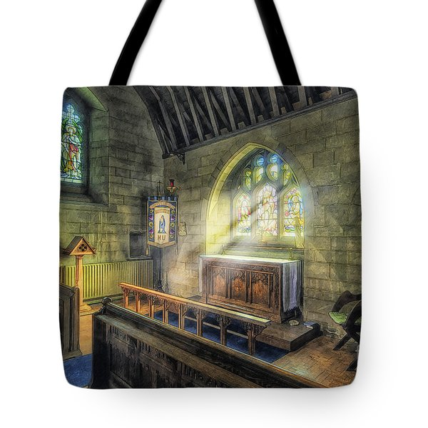 Hear My Prayer Tote Bag by Ian Mitchell