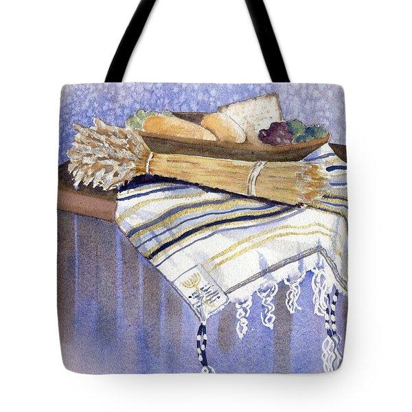 Hear O Israel Tote Bag