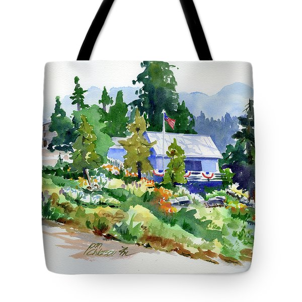 Hearse House Garden Tote Bag