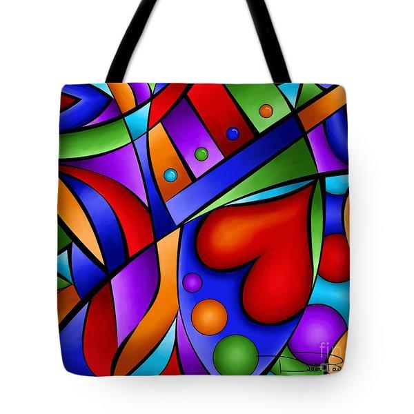 Heart And Soul Tote Bag by Debi Payne