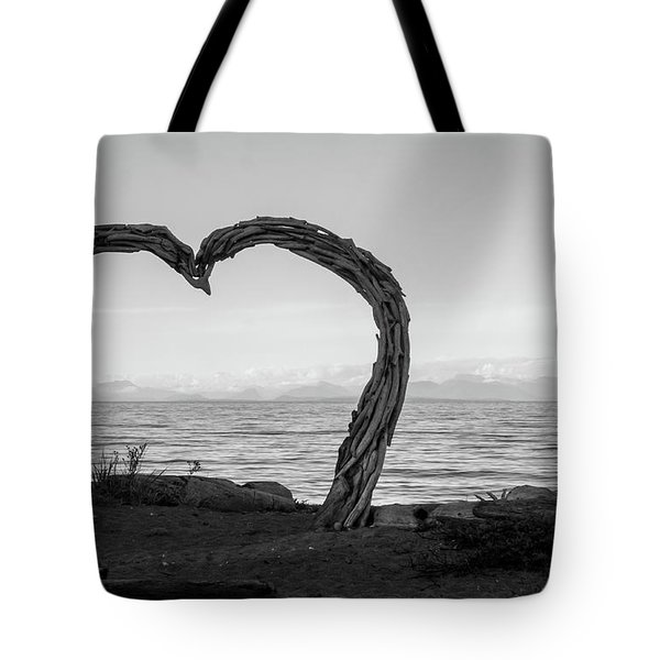 Heart Arch Tote Bag