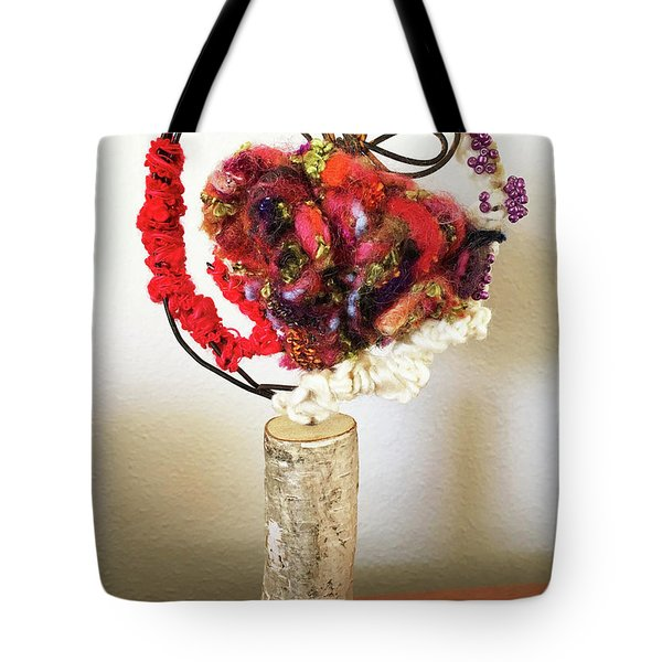 Heart Art Tote Bag