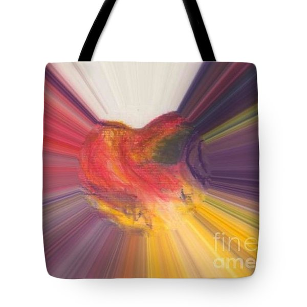 Heart Beats Tote Bag by Vicki Lynn Sodora