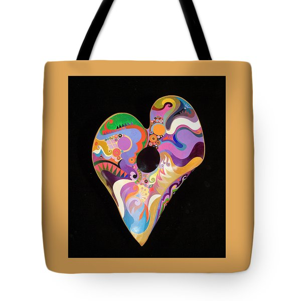 Heart Bowl Tote Bag