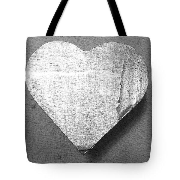 Heart Box- Edit Tote Bag by Alohi Fujimoto
