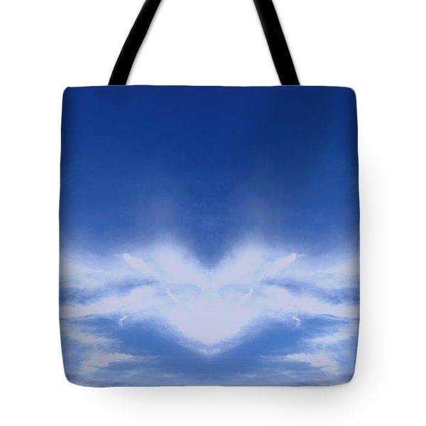 Heart Cloud Tote Bag