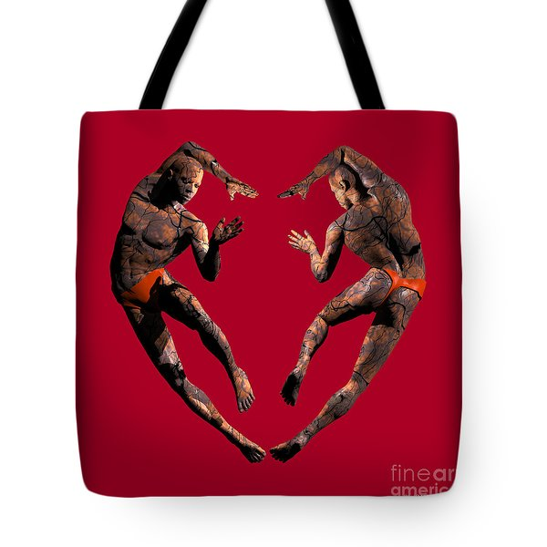 Heart Dance Tote Bag