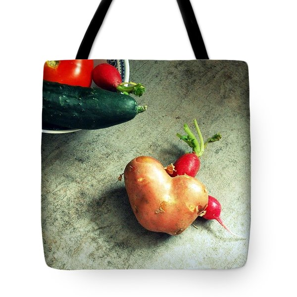 Heart For Lunch Tote Bag