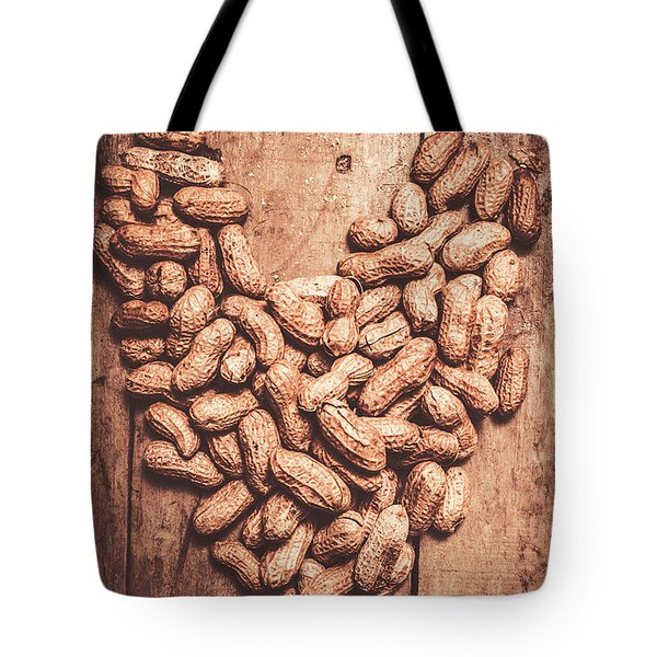 Heart Health And Nuts Tote Bag