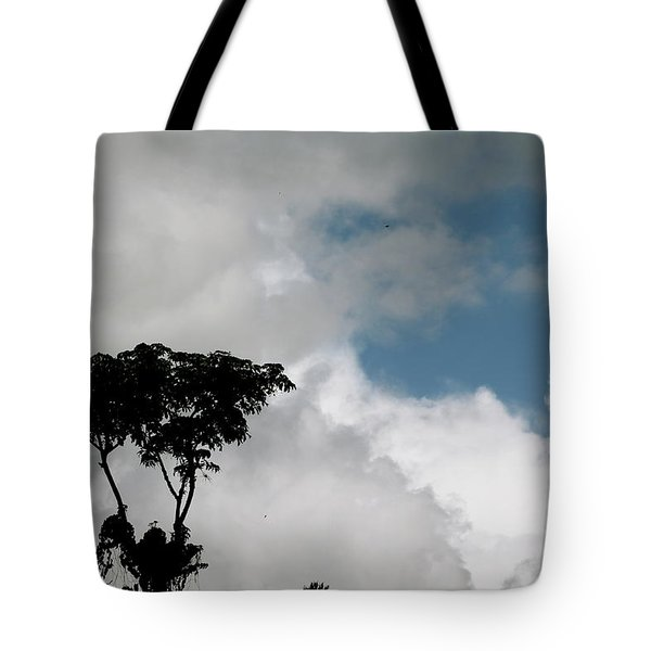 Heart In The Clouds Tote Bag