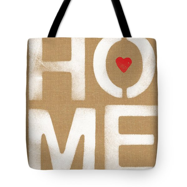 Heart In The Home- Art By Linda Woods Tote Bag