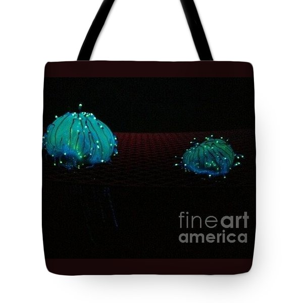 Heart Jelly Tote Bag by Vanessa Palomino