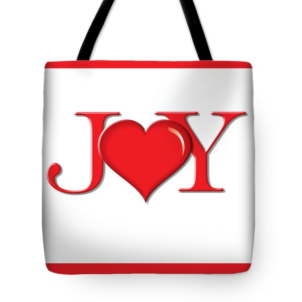 Heart Joy Tote Bag