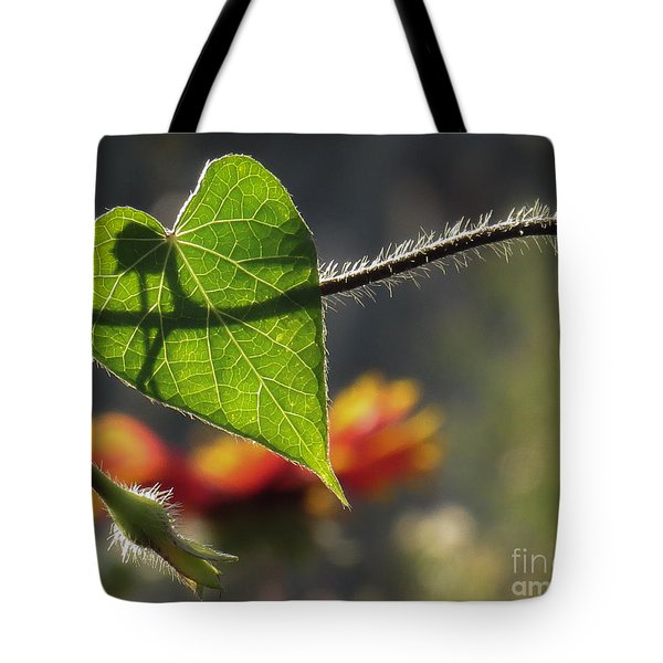 Heart Leaf 1 Tote Bag
