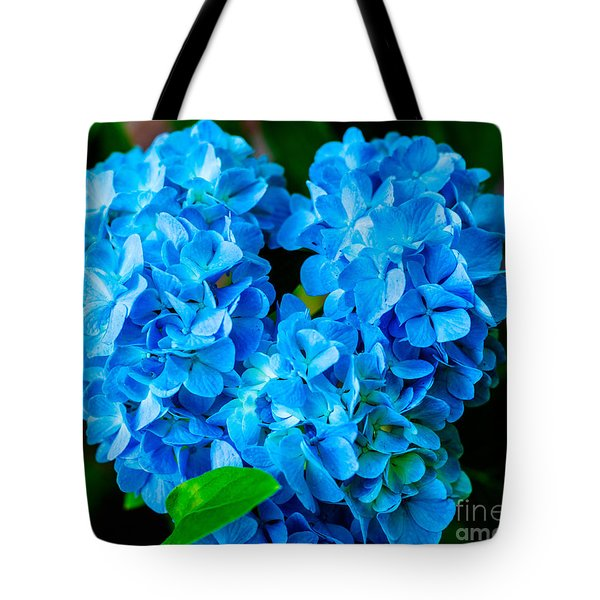 Heart Of Blue Tote Bag