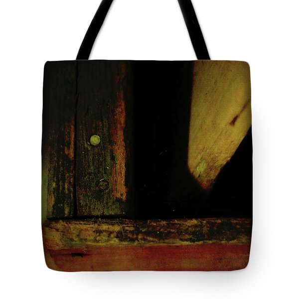 Heart Of Darkness And Light Tote Bag by Rebecca Sherman