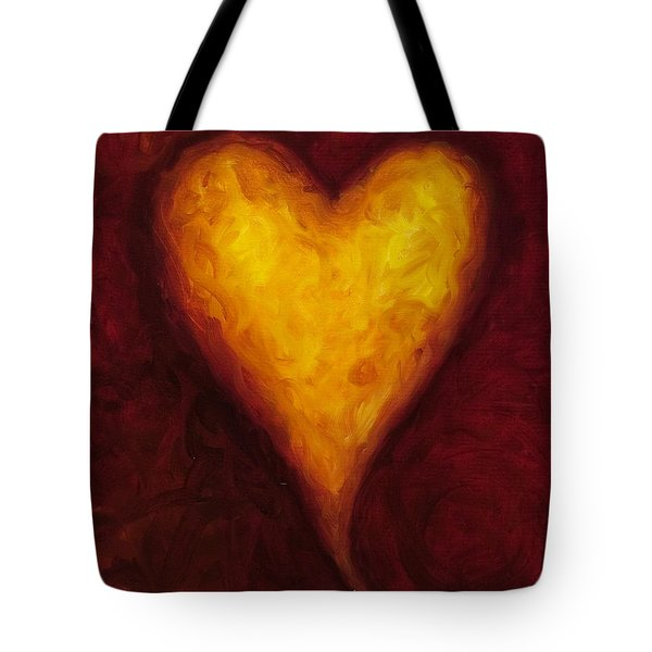 Heart Of Gold 1 Tote Bag