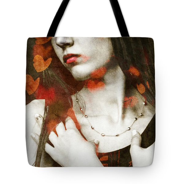 Tote Bag featuring the digital art Heart Of Gold by Paul Lovering