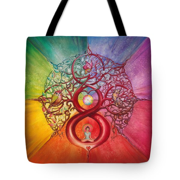 Heart Of Infinity Tote Bag
