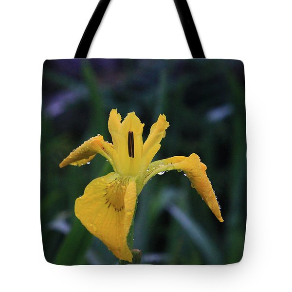 Heart Of Iris Tote Bag