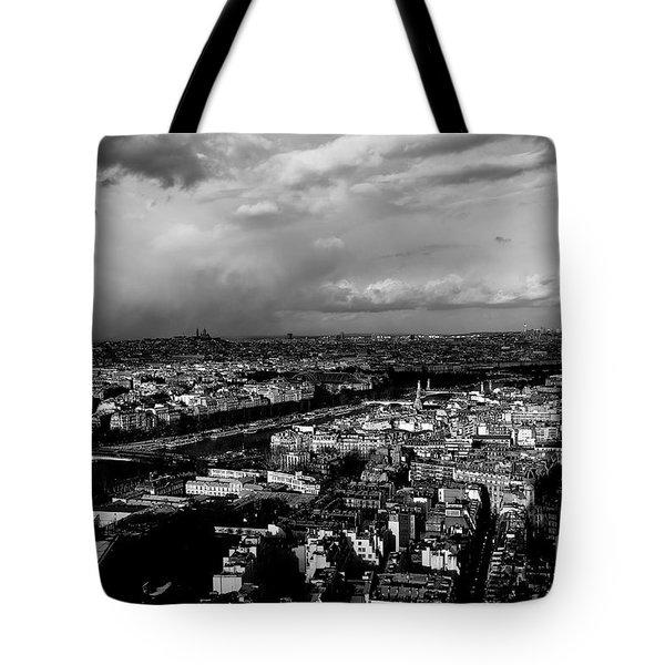 Paris 3 Tote Bag