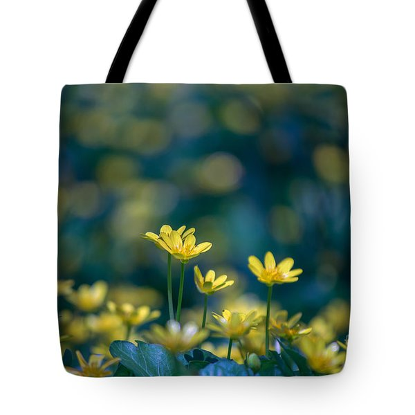 Heart Of Small Things Tote Bag