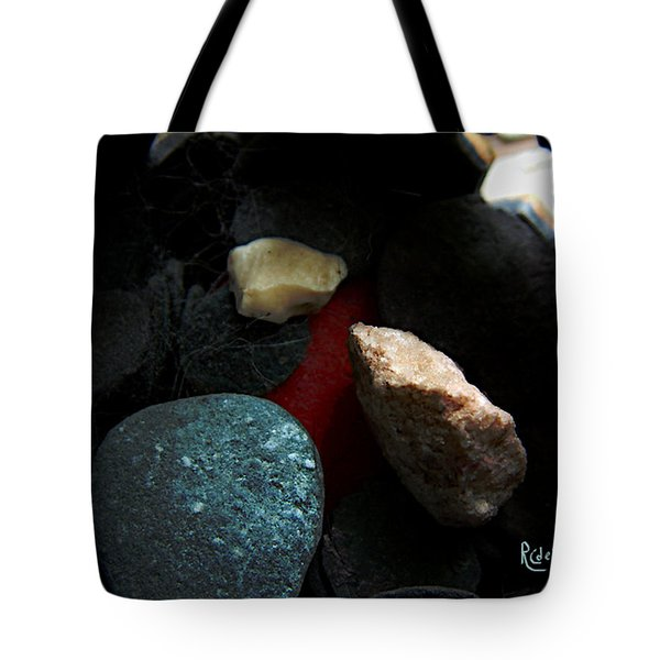 Tote Bag featuring the photograph Heart Of Stone by RC DeWinter
