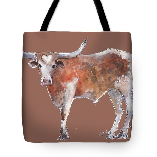 Heart Of Texas Longhorn Tote Bag