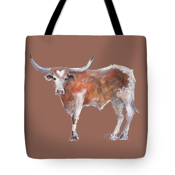 Heart Of Texas Longhorn Tote Bag