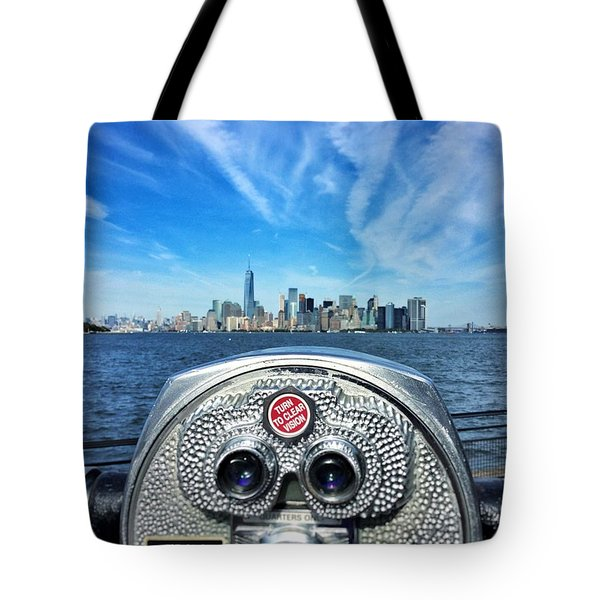 Heart Of The City Tote Bag by Michael Albright
