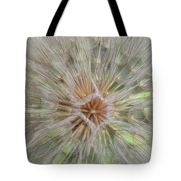 Heart Of The Dandelion Tote Bag