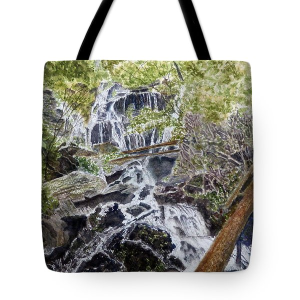 Tote Bag featuring the painting Heart Of The Forest by Joel Deutsch