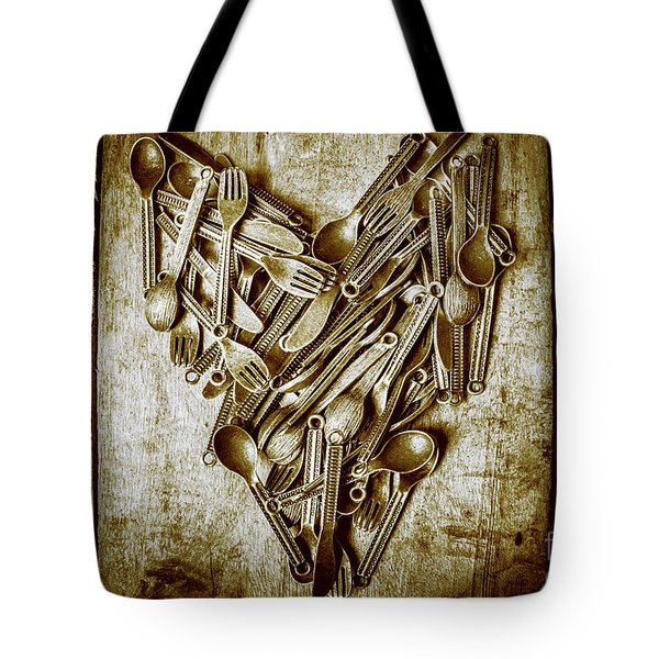 Heart Of The Kitchen Tote Bag
