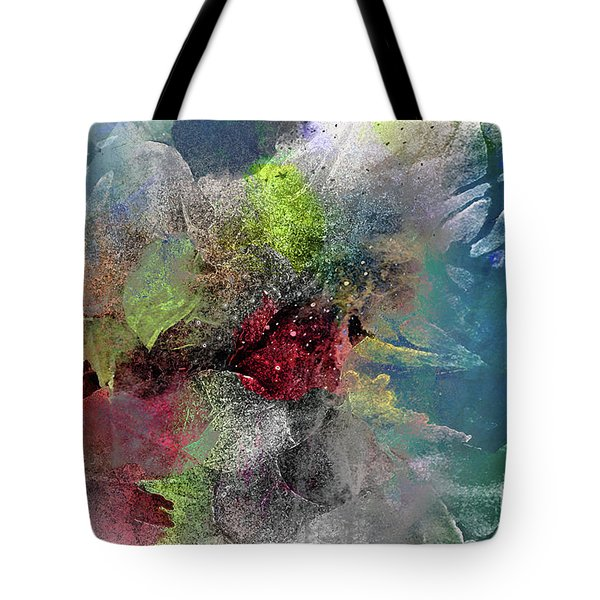 Heart Of The Matter Tote Bag by Allison Ashton