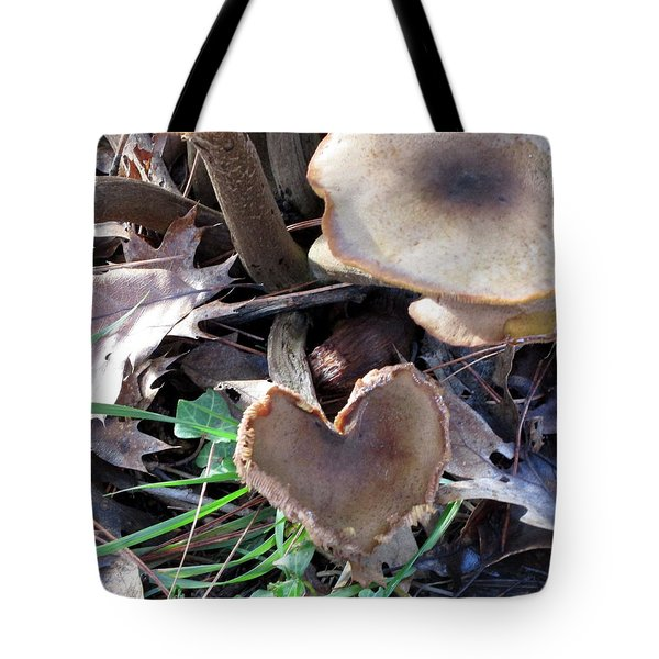 Tote Bag featuring the photograph Heart Of The Matter Smaller Pic by Marie Neder