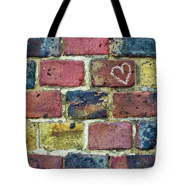 Tote Bag featuring the photograph Heart Of The Matter by Tim Gainey