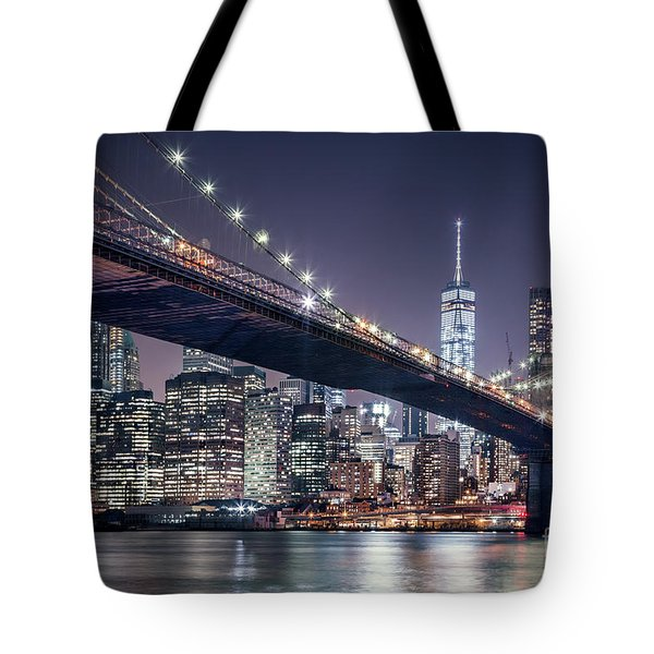 Heart Of The Night Tote Bag