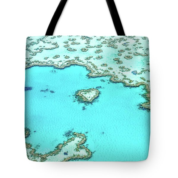 Heart Of The Reef Tote Bag