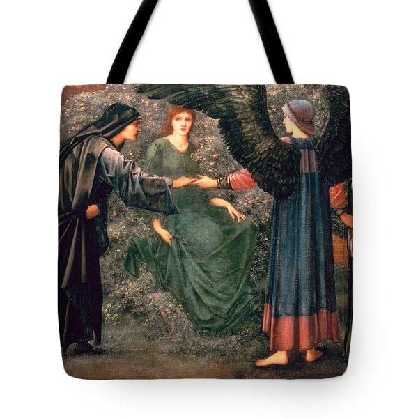 Heart Of The Rose Tote Bag by Sir Edward Burne-Jones