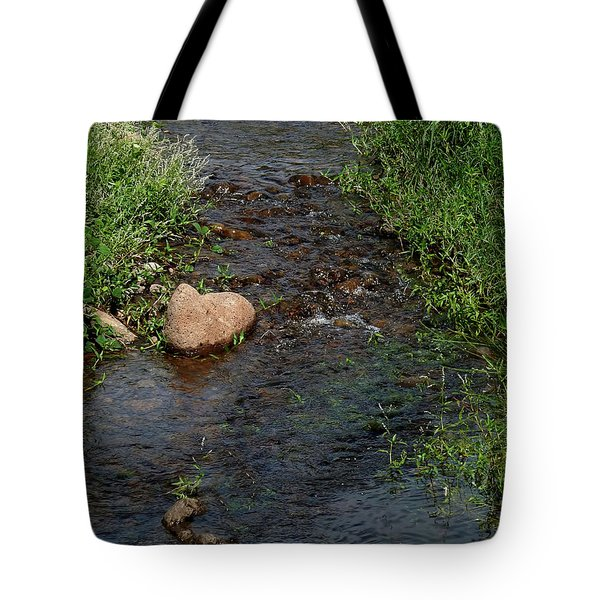 Heart Of The Stream Tote Bag