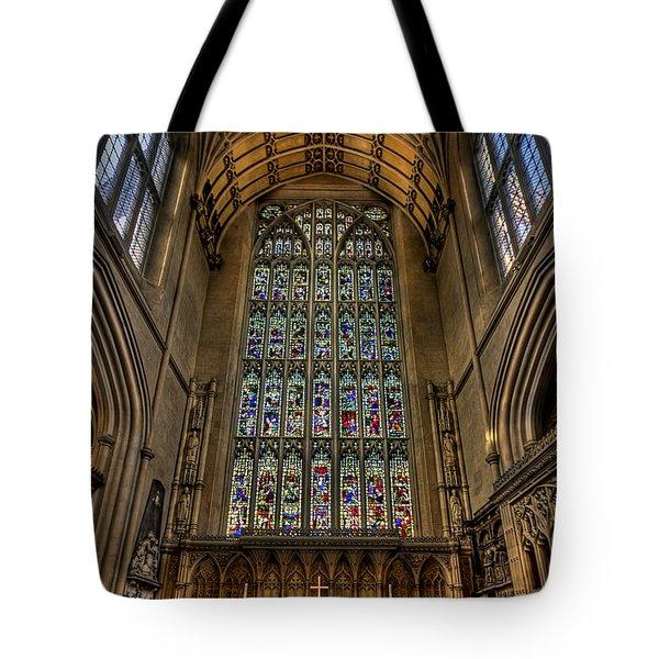 Heart Of Worship Tote Bag