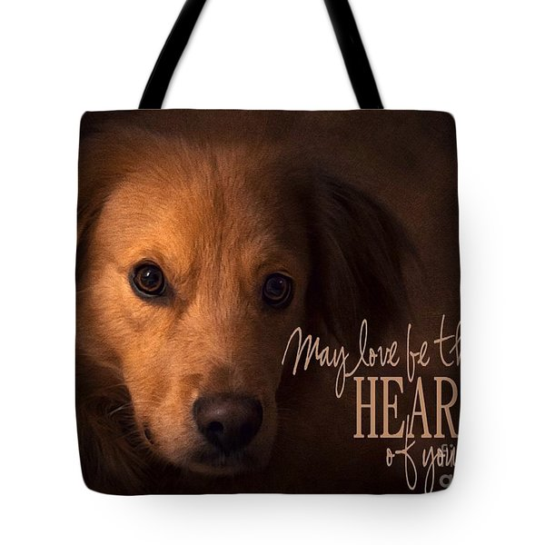 Heart Of Your Home  Tote Bag