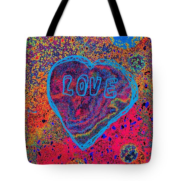 Heart On The Stage Tote Bag